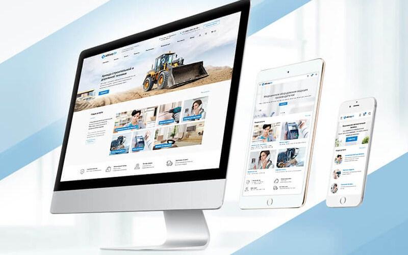 Создание бизнес сайта в Сумах